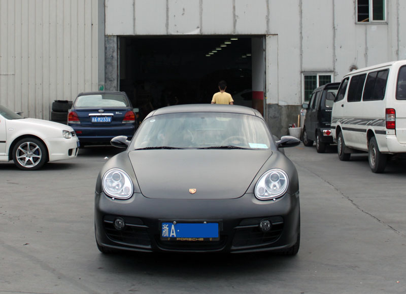卡曼 亚光黑 视频专区 杭州车世界汽车改装工厂 高清图片