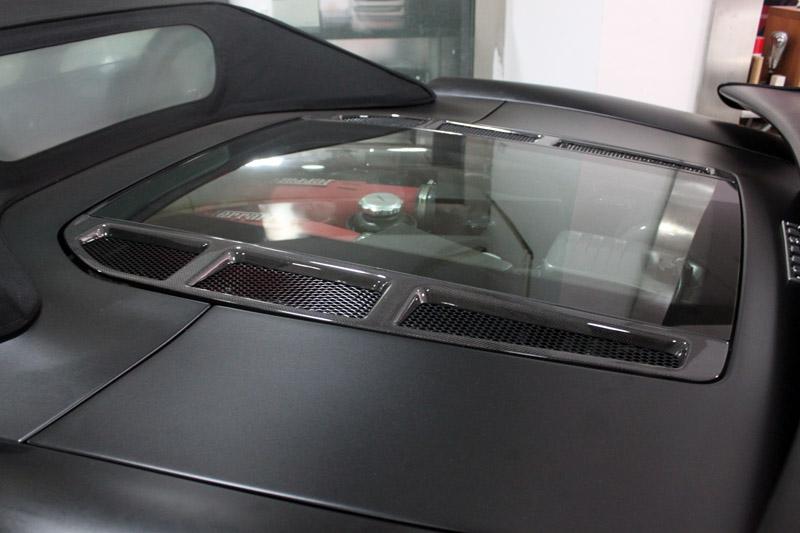 f430 亚光黑 视频专区 杭州车世界汽车改装工厂 高清图片
