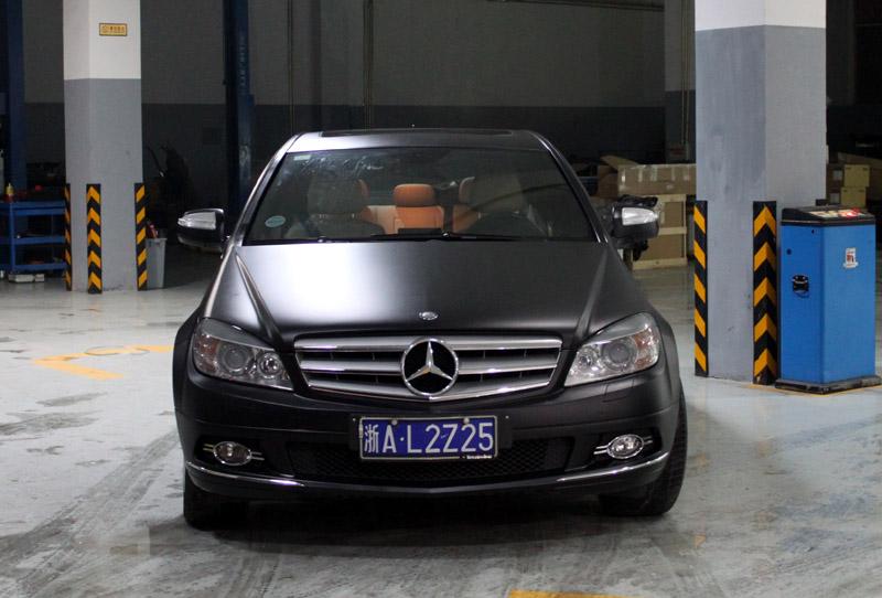 c200 亚光黑 视频专区 杭州车世界汽车改装工厂 高清图片